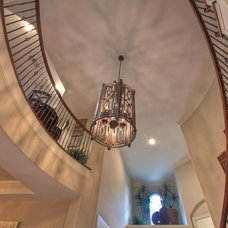 Traditional Staircase by Silvan Homes