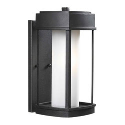 Kenroy Home - Kenroy 92003CBRZ Sentinel Large Wall Lantern - Crisp and Asian-inspired, this family of lanterns makes a great choice for lovers of modern design. Finished in Copper Bronze, with Opal White glass, Sentinel offers an inviting gateway to a contemporary home.