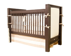 Newport Cottages - Ricki Crib with Upholstered Panels - Customize your crib just the way you want it with this ingenious piece. Featuring end panels that can be easily upholstered and reupholstered, you can tailor it to match your nursery's decor. Plus, with dual-level fixed gates, an optional storage drawer and the ability to convert to a toddler bed, it's as functional as it is fashionable.
