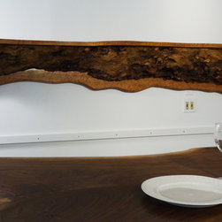 Furniture - Rare Earth Hardwoods handmade maple mantel for a unique, one of a kind look you can't find in just any home.
