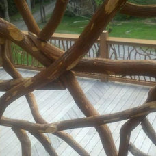 traditional outdoor products by Wood Railing