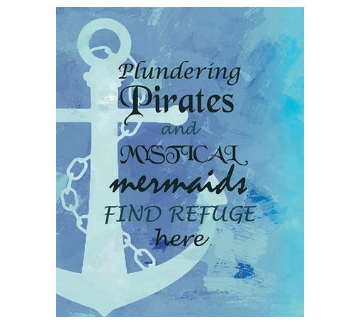 Oh How Cute Kids by Serena Bowman - Nautical Plundering Pirates , Ready To Hang Canvas Kid's Wall Decor, 11 X 14 - Each kid is unique in his/her own way, so why shouldn't their wall decor be as well! With our extensive selection of canvas wall art for kids, from princesses to spaceships, from cowboys to traveling girls, we'll help you find that perfect piece for your special one.  Or you can fill the entire room with our imaginative art; every canvas is part of a coordinated series, an easy way to provide a complete and unified look for any room.