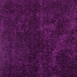 Jaipur Rugs - Pink /Purple Solid Pattern Shag Rug - FL08, 2x3 - Personal expression reaches new heights with Flux, a beautiful range of plush, hand-woven shag rugs of 100% polyester. This chameleon is ideal for the contemporary design lover who enjoys mixing up his or her personal space often acting as a rich background to a diverse palette of furnishings and accessories. Highly textured shag construction brings comfort underfoot while a palette of fashion forward solid hues commands attention in any room.
