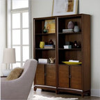 Hooker Furniture Felton Bunching Bookcase - Features: