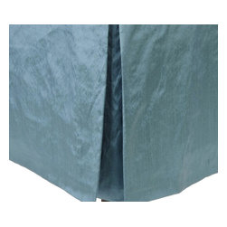 Mystic Home - Jade - Bed Skirt by Mystic Home, Twin - The Jade, by Mystic Home