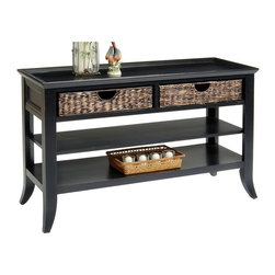 Liberty Furniture - Liberty Furniture 915 Occasional 47x27 Rectangular Cocktail Table in Black, Dark - 915 Occasional 47x27 Rectangular Cocktail Table in Black, Dark Wood is a part of 915 Occasional Collection by Liberty Furniture What's included: Cocktail Table (1).