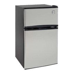 Avanti - Avanti Stainless Steel 3.1 Cubic Foot Refrigerator - Avanti stainless steel 3.1 cubic foot refrigerator.
