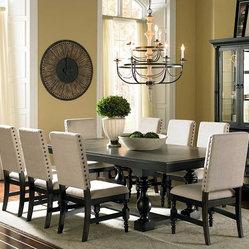 Steve Silver Leona Dining Table By Steve Silver Leona