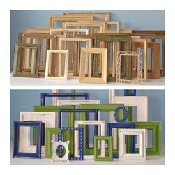 Large Custom Picture Frame Sets by The Art of Chic - Large Custom Sets of Picture Frames by The Art of Chic