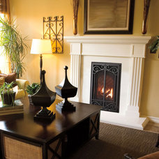Traditional Fireplaces by CJ's Home Decor & Fireplaces
