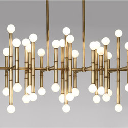 Meurice Rectangle Chandelier - This chandelier will hang over the top of my future dining table (in my dreams.)