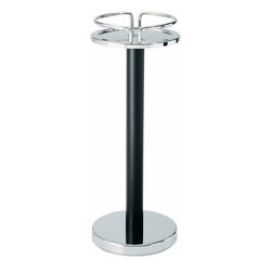 Alessi - Alessi Wine Cooler Stand - Keep your favorite bottle of wine or bubbly within reach with a convenient wine cooler stand. It easily holds a chilled bucket while leaving space on your table or counter for food and decor. It's an essential piece for your next dinner party.