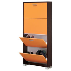 Contemporary Shoe Storage by TheBathOutlet