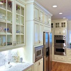 Transitional Kitchen by Housley Enterprises