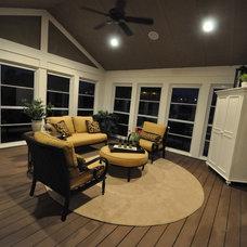Traditional Porch by Orendorf Custom Homes, LLC
