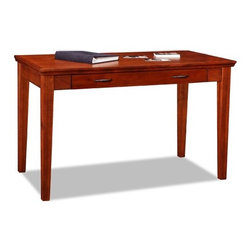 Leick - Riley Holliday Westwood Laptop Writing Desk - Perfect for laptops or to hide away papers or a desktop keyboard, this delicately scaled desk offers abundant organization assistance in just a tiny space. The drop down front presents the keyboard at a comfortable work height while full extension drawer guides offer the full depth of the drawer as useable space. Features: -Drop lid drawer front.-Wire retaining grommet on back of drawer.-Blackened drawer pulls.-Full extension ball bearing drawer guides.-Riley Holliday collection.-Distressed: No.-Collection: Riley Holliday.Dimensions: -Dimensions: 30'' Height x 48'' Width x 24'' Depth.-Overall Product Weight: 68 lbs.Assembly: -Assembly required.Warranty: -Manufacturer provides one year warranty against manufacturing defects from the date of purchase.