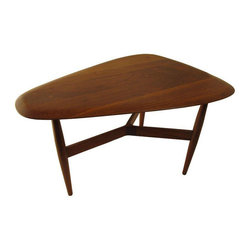 Rare John Keal for Brown Saltman Side Table - $1,500 Est. Retail - $645 on Chair -