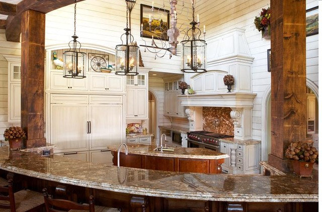 Traditional Kitchen Cabinets by Inspirations Kitchen and Bath