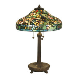 Dale Tiffany - Large Dale Tiffany Table Lamp - Product Details