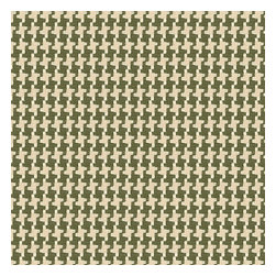 Green Handwoven Houndstooth Fabric - Green & cream woven cotton houndstooth that will cozy up the classic home.Recover your chair. Upholster a wall. Create a framed piece of art. Sew your own home accent. Whatever your decorating project, Loom's gorgeous, designer fabrics by the yard are up to the challenge!