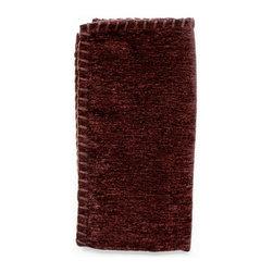 Silverado Home - Shalimar Chocolate Napkin Set - Sold in Sets of 4: