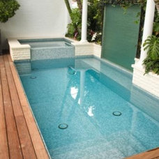 Contemporary Pool by CCY designs