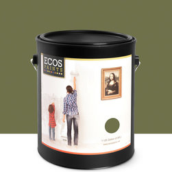 Imperial Paints - Eggshell Wall Paint, Gallon Can, Old World Olive - Overview: