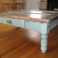 Eclectic Coffee Tables by Rustic Door Designs