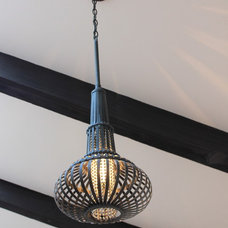 Mediterranean Pendant Lighting by Nina Williams Designs