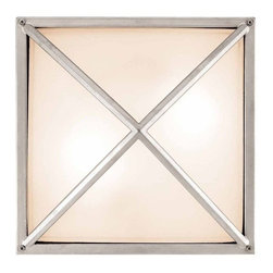 Access Lighting - Access Lighting 20330 Two Light Ambient Lighting Outdoor Wall Sconce from the Od - Two light ambient lighting wall sconce featuring frosted glassRequires 2 60w Medium Base Bulbs (Not Included)