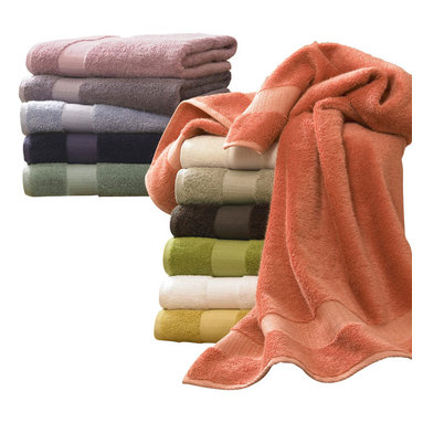 Luxor Linens - Bamboo Luxury Bath Towels, 3-Piece, Sunflower - From our Estate Collection comes the Bamboo line. Made of the finest bamboo and Egyptian cotton yarns, grown in a pesticide-free environment. Its natural antibacterial characteristic is hygienically ideal for one's daily use. Its absorption is superior to cotton, its softness is incomparable. By combining these two fine yarns, we have created a masterpiece for your bathing experience.