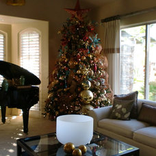 Eclectic Christmas Trees by The French Designs