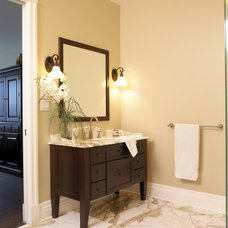 Traditional Bathroom Vanities And Sink Consoles by Cuisines BeauRegard