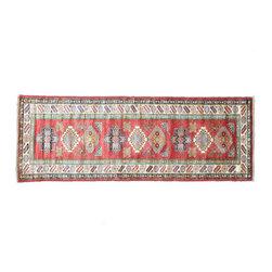 1800GetARug - Kazak Runner Hand Knotted Rug Sh11196 - About Tribal & Geometric