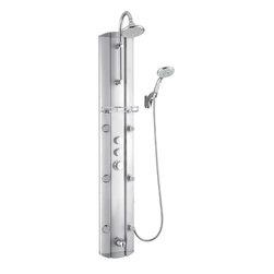 DreamLine - DreamLine SHCM-23580 SHCM-23580 Shower Column - DreamLine SHCM-23580 Hydrotherapy Shower Column with Shower Accessory Holder