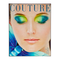 Couture May 1958 Magazine Cover Print - What a fabulous and fun piece of art! It's a Couture Magazine cover from 1958.