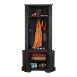 Corner Locker - Have you always wanted a mudroom? Create your own in ...