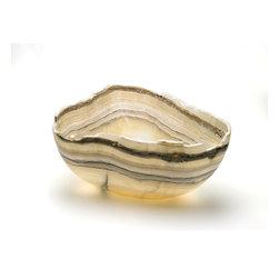 Natural Stone Bowls and Centerpieces - John Parrish