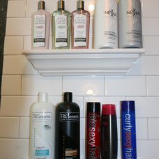Traditional Shower Caddies by Bathroom Tile Shower Shelves