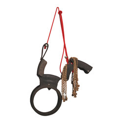 Horse Tire Swing - Add the flavor of the old west to your yard with a classic tire swing cleverly modified to resemble a saddle. Get ready to horse around.