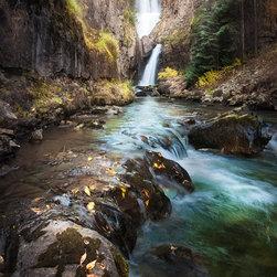Mystic - Mystic Falls, located in southwestern Colorado.