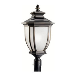 Kichler - Kichler Salisbury Outdoor Post/Pier in Bronze - Shown in picture: Outdoor Post Mt 1Lt in Rubbed Bronze