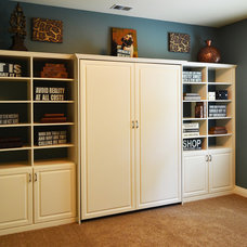 Bedroom by Closets by Design Louisville