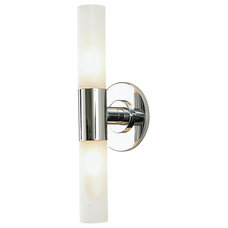 Bathroom Lighting And Vanity Lighting Cylinder 2 Light Bath Bar by Alico Industries