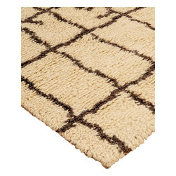 """Natural Area Rugs - """"Colours"""" Morrocan Wool Rug, 100% Natural Fiber, Hand Woven - Made from 100% Durable Wool. Our exquisite wool rug is hand woven to bring a traditional touch to any room. Elegant and durable, these fine wool rugs can be handed down for centuries with the proper care. Incredibly soft and warm, wool rugs look great in any room. Rug pads are recommended as it will ensure the longevity of your wool rug. Variations are part of the natural beauty of natural fiber."""
