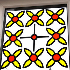 Contemporary Stained Glass Panels by Decapanels Ltd