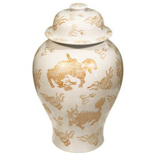 Asian Vases by Belle and June