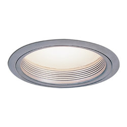 "Nora Lighting - Nora NTM-42 6"" Regressed Albalite Lens with Baffle, Ntm-42n - 6"" Regressed Albalite Lens with Baffle"