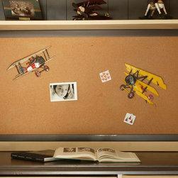 Newport Cottages - Framed Cork Board - Framed Cork Board