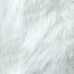 FurAccents - Fur Accents Classic Rectangle Area Rug Premium Shag Faux Fur, True White, 5'x8' - Plush sheepskin design. Made from 100% animal free and eco friendly fibers. Perfect for any room in the house. Skilfully made and tastefully lined with real parchment ultra suede. Luxury, quality and unique style for the most discriminating designer/decorator.